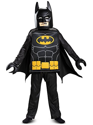 (Disguise Batman Lego Movie Deluxe Costume, Black, Small)