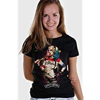Camiseta Harley Quinn Bubble Gum Esquadrão Suicida