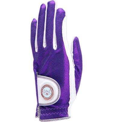 Glove It Women's Violet Bling Golf Glove (Medium, Left Hand)
