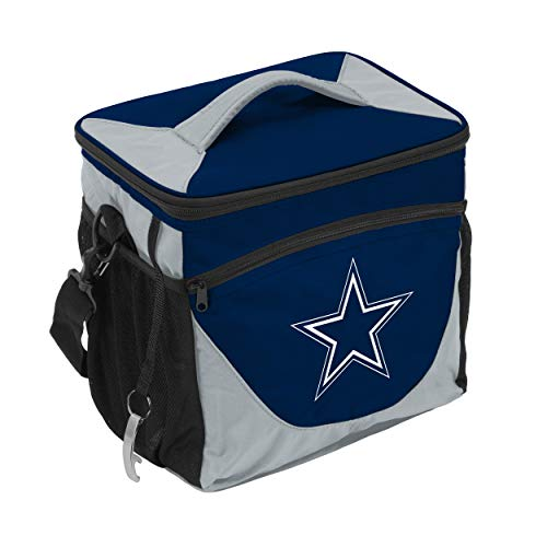 Logo Brands 609-63 NFL Dallas Cowboys 24 Can Cooler, One Size, Navy
