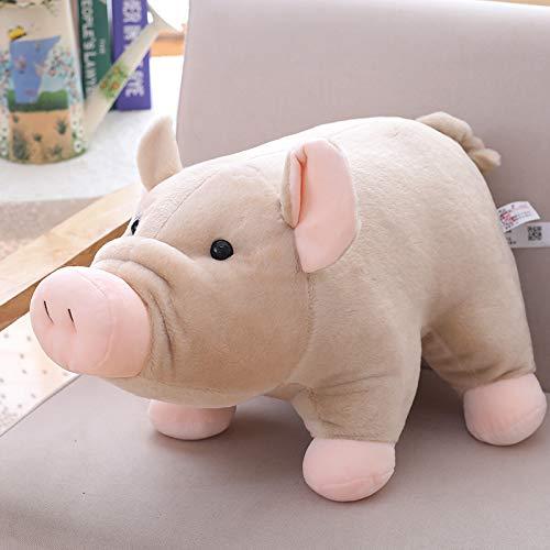 35 Cm Camel DONGER Toy Auspicious Pig Figurine Simulation Pig Doll Doll Girl Doll Cute Sleeping, bluee, 35 Cm