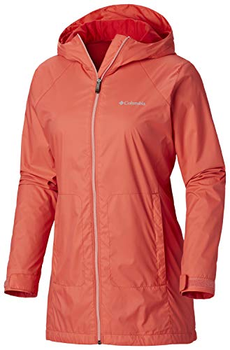 Lined Red Jacket - Columbia Women's Switchback Lined Long Jacket, Red Coral, Small