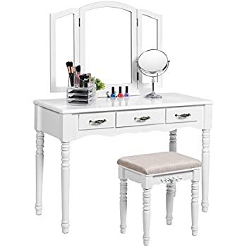 amazon com black metal bedroom vanity with glass table 11700 | 41 4v6 2bdwcl sl500 ac ss350