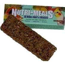 "Lafebers Nutri-Meals Taste of the Tropics Bird Treat for Cockatiel 2oz ""Bird - Treats"""