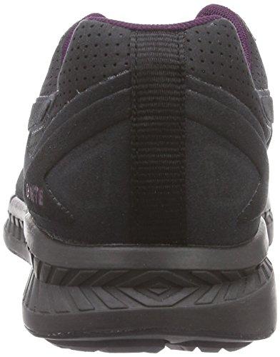 Puma IGNITE Suede - zapatilla deportiva de cuero Unisex adulto negro - Schwarz (black 03)