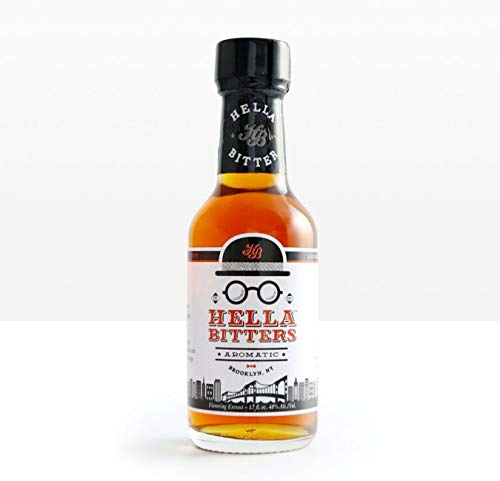 Hella Cocktail Co. | Aromatic Bitters, 1.7 Fl. Oz (Pack of 1) | Craft Cocktail Bitters for Classic Old Fashioned and Manhattan Cocktails|Perfect for Holiday Cocktail Recipes