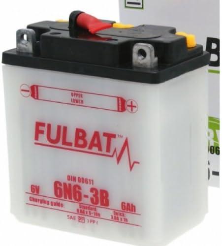 Fulbat Batterie moto 6N6-3B 6V 6Ah