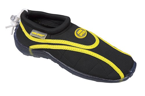 Speed Chaussures l'eau pantoufles noir de surf Aquashoe de chaussures Aqua PSFnqqZ