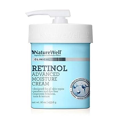 Nature Well Clinical Retinol Advanced Moisture Cream 2 Pack 16 oz. feels non-greasy