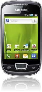 Samsung S5570 Galaxy Mini - Smartphone libre Android (cámara 3 MP) color plata