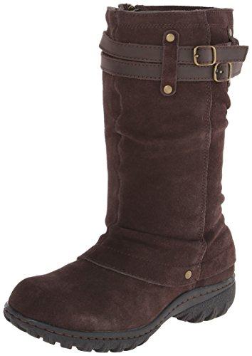 Khombu Boot Womens Khombu Brown Chocolate Womens Mallory qSCFqd