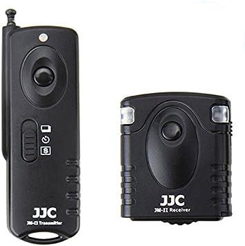JJC frecuencia de radio control remoto inalámbrico para Pentax KP K-70 como Pentax CS-310