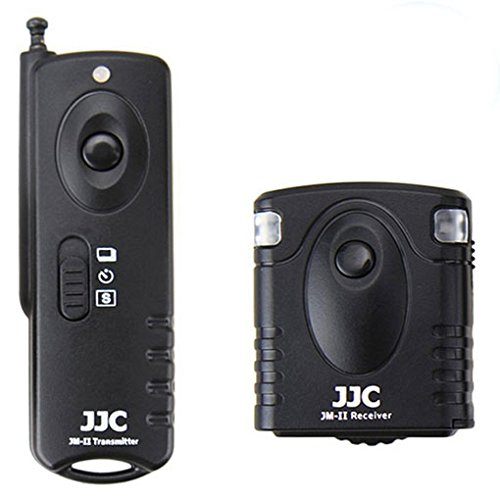 (JJC JM-PK1 II Wireless Shutter Release For PENTAX K-70 K70 replace PENTAX CS-310 With A&R Cleaning cloth)
