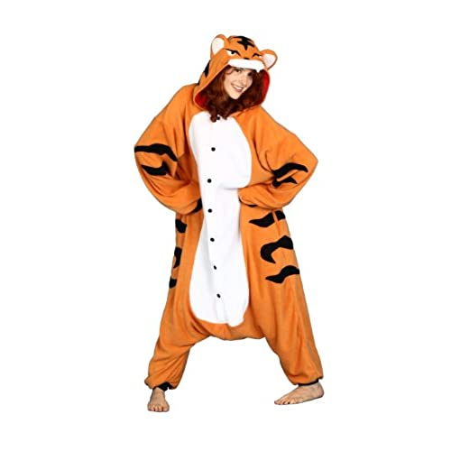 Hobbes Tiger Costume Smiffyu0027s Adult Unisex Tiger Costume