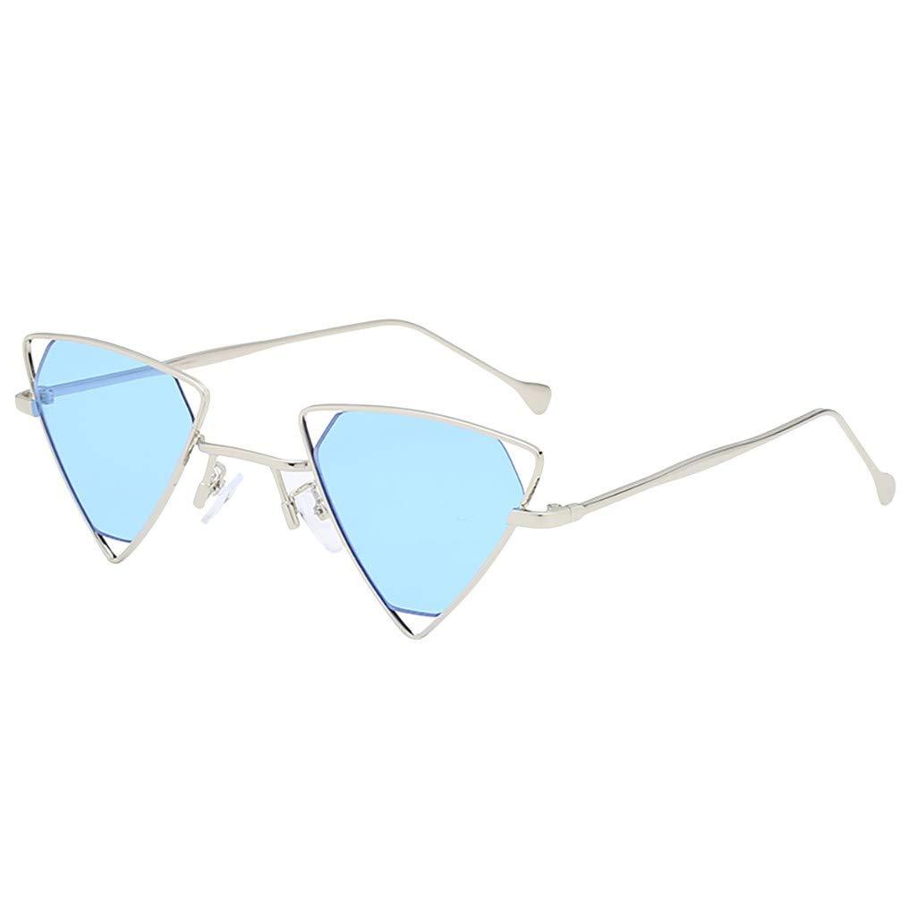 TADAMI Fashion Man Women Irregular Shape Sunglasses Glasses Vintage Retro Style