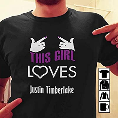 Justin Timberlake this Girl Loves Heart Hot T-shirt