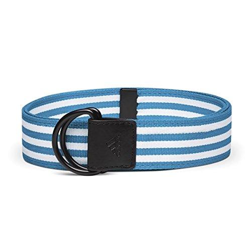 adidas Golf Women's Webbing Belt, Solar Blue, Adjustable (Taylormade Golf Belt)
