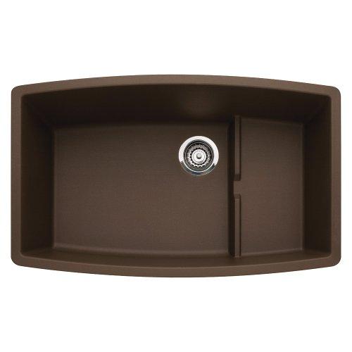 Blanco 440063 Performa Silgranit II Cascade Sink, Café Brown ()
