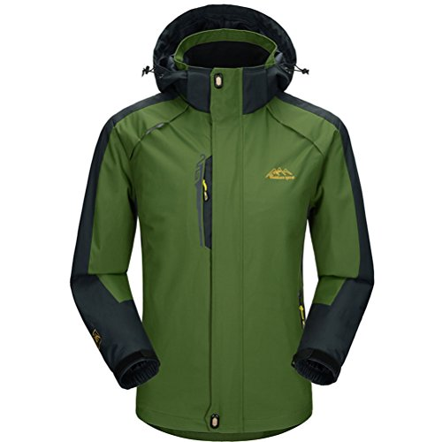 [Timeiya Men's Outdoor Windproof jackets for mountaineering Autumn] (Best Figure Skating Costumes)