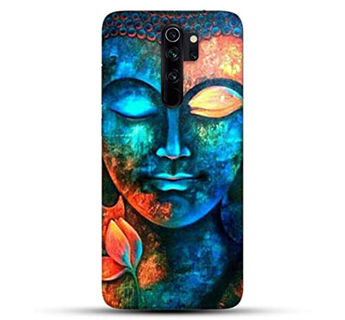 Pikkme Colorful Lord Buddha Designer Printed Hard Back Case and Cover for Xiaomi Redmi Note 8 Pro