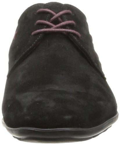 Kost Korda5 - Zapatos de Cordones de terciopelo hombre negro - Noir (Croûte Velours Noir)