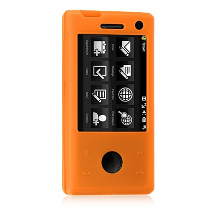 Htc Touch Pro Skin (HTC Fuze / Touch Pro GSM (AT&T) Orange Premium Silicone Skin Case)