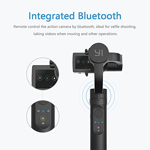 YI Gimbal 3-Axis Handheld Gimbal Stabilizer for Yi 4K, 4K+, Lite,and Other Action Cameras