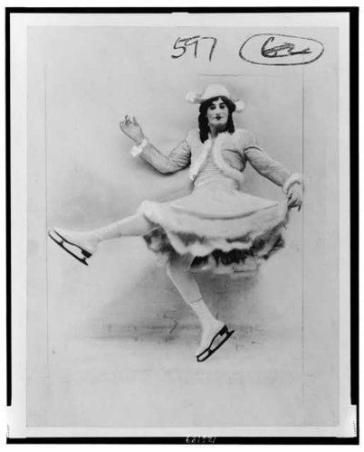 Photo: Fred Andrew Stone,1873-1959,American Actor,costume,Female Ice Skater,Dress