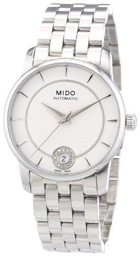 mido-womens-mido-m0072071103600-baroncelli-analog-display-swiss-automatic-silver-watch