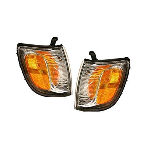Corner Light Set of 2 Compatible with 99-2000 Toyota 4Runner Right and Left Side - Toyota Corner 4runner 02