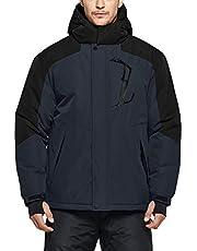 Tesla Men's Basic/Cargo/Overalls Snow Pants, Ski Jacket Windproof Water-Repel