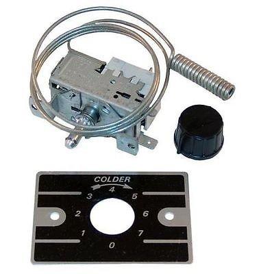 Delfield Thermostat-Cooler Control Measures: Coil Model No. 219-4536