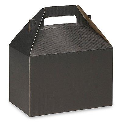 Gable Box Black Size 8 x 4 7⁄8 x 5 1⁄4