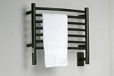 Jeeves H Curved Oil Rubbed Bronze Towel Warmer by Amba