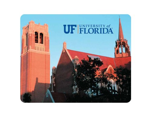 (NCAA Florida Gators Century Tower and Auditorium Full Color Print Deskpad)