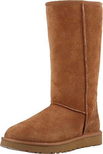 Kids Ugg Classic Tall Boots (UGG Women's Classic Tall II Winter Boot, Chestnut, 7 B US)