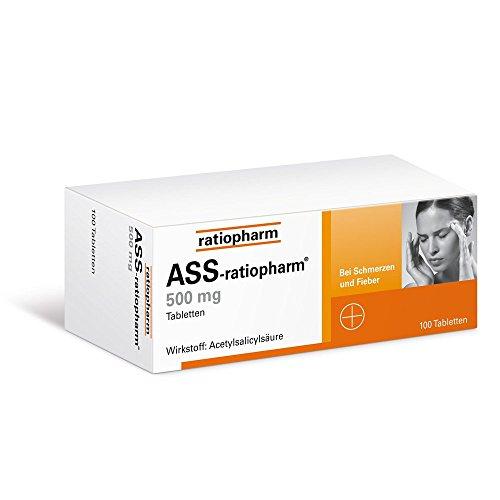 ASS-ratiopharm 500 mg, 100 St