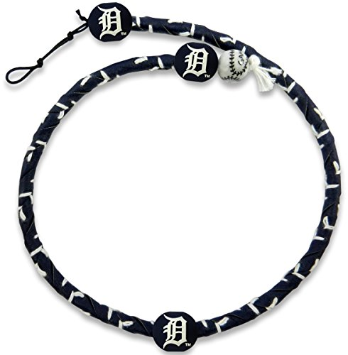 GameWear 1 Pc, Detroit Tigers Team Color Frozen Rope Baseball Necklace