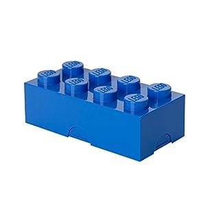 Lego Lizenzkollektion 40231731 - Lunchbox Brotdose, 8 Noppen, Blau