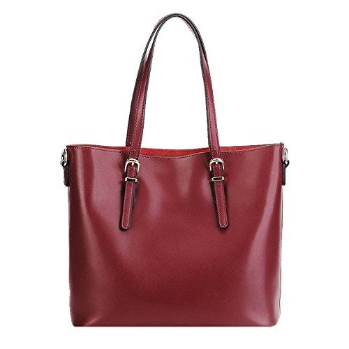 portés épaule fashion Sac M173 Sac en LF femme DISSA Bordeaux main portés à cuir main Sac wg4xa