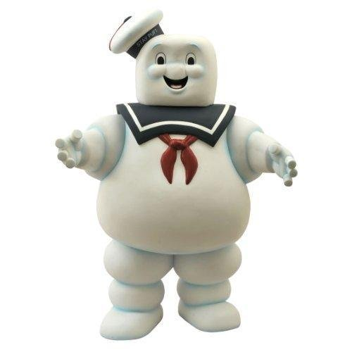 """Diamond Select Toys Ghostbusters 24"""" Stay Puft Marshmallow Man Vinyl Bank New"""