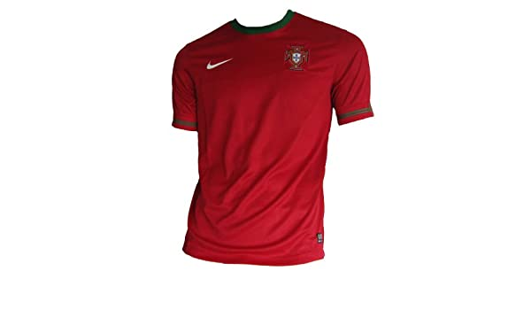 best authentic db73e b3592 Amazon.com   NIKE 2012-13 Portugal Euro 2012 Home Football Soccer T-Shirt  Jersey   Sports   Outdoors