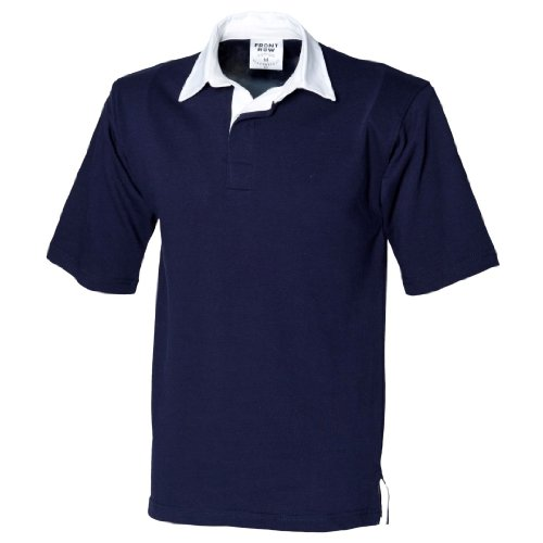 t Sleeve Rugby Shirt Navy XL ()