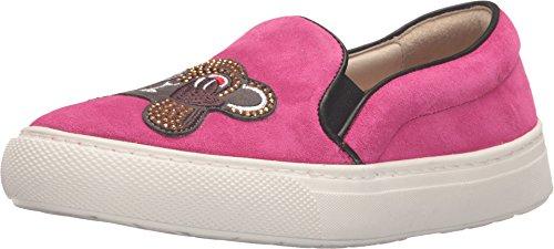 Markus Lupfer Women's ML092 Pink Crosta Monkey Face Sneaker 38 M