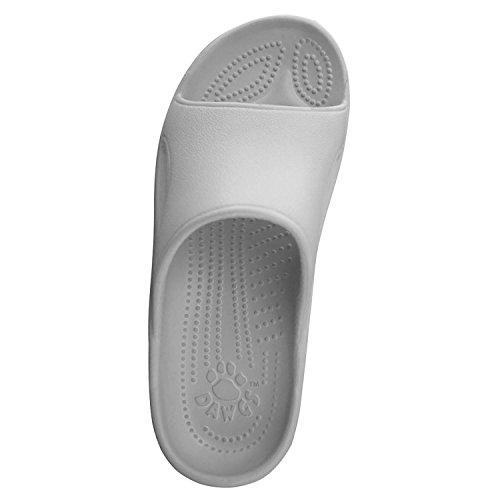 Dawgs Femmes Dames Diapositive Sandale Blanc