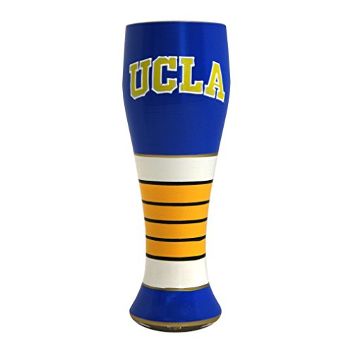 NCAA UCLA Bruins Artisan Pilsner Glass, 23-ounce (Glass Bruins Ucla Art)