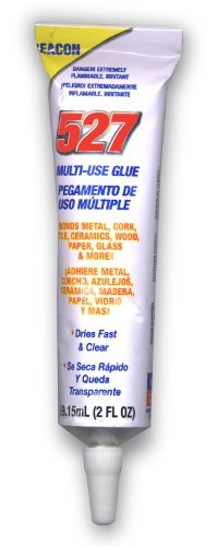 Multi-Use Glue Can Bond almost Any Material Including Plastic and Glass (Pkg/2)