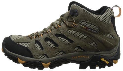 b94b6d71 Merrell Men's Moab Ventilator Mid Hiking Boot Walnut
