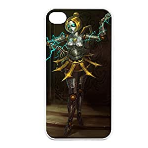 Orianna-002 League of Legends LoL case cover for Apple iPhone 4 / 4S - Hard White