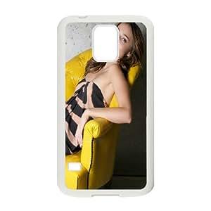 Samsung Galaxy S5 Cell Phone Case White Charming Miranda Kerr Cbbjw